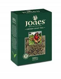 Зеленый чай Jones листовой 100 г
