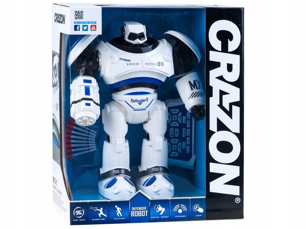 Interaktywny Tańczący ROBOT chodzi + pilot RC0398 Seria inna