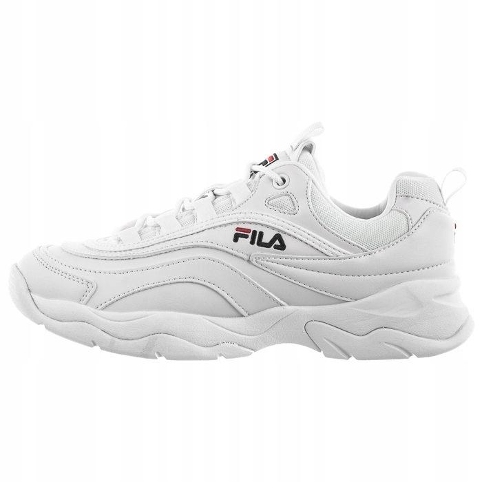 Buty Męskie Sneakerhead Fila Ray Low 1010561 Białe