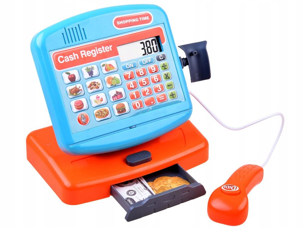 Elektroniczna zabawka Kasa fiskalna sklep ZA3883 Płeć Chłopcy Dziewczynki