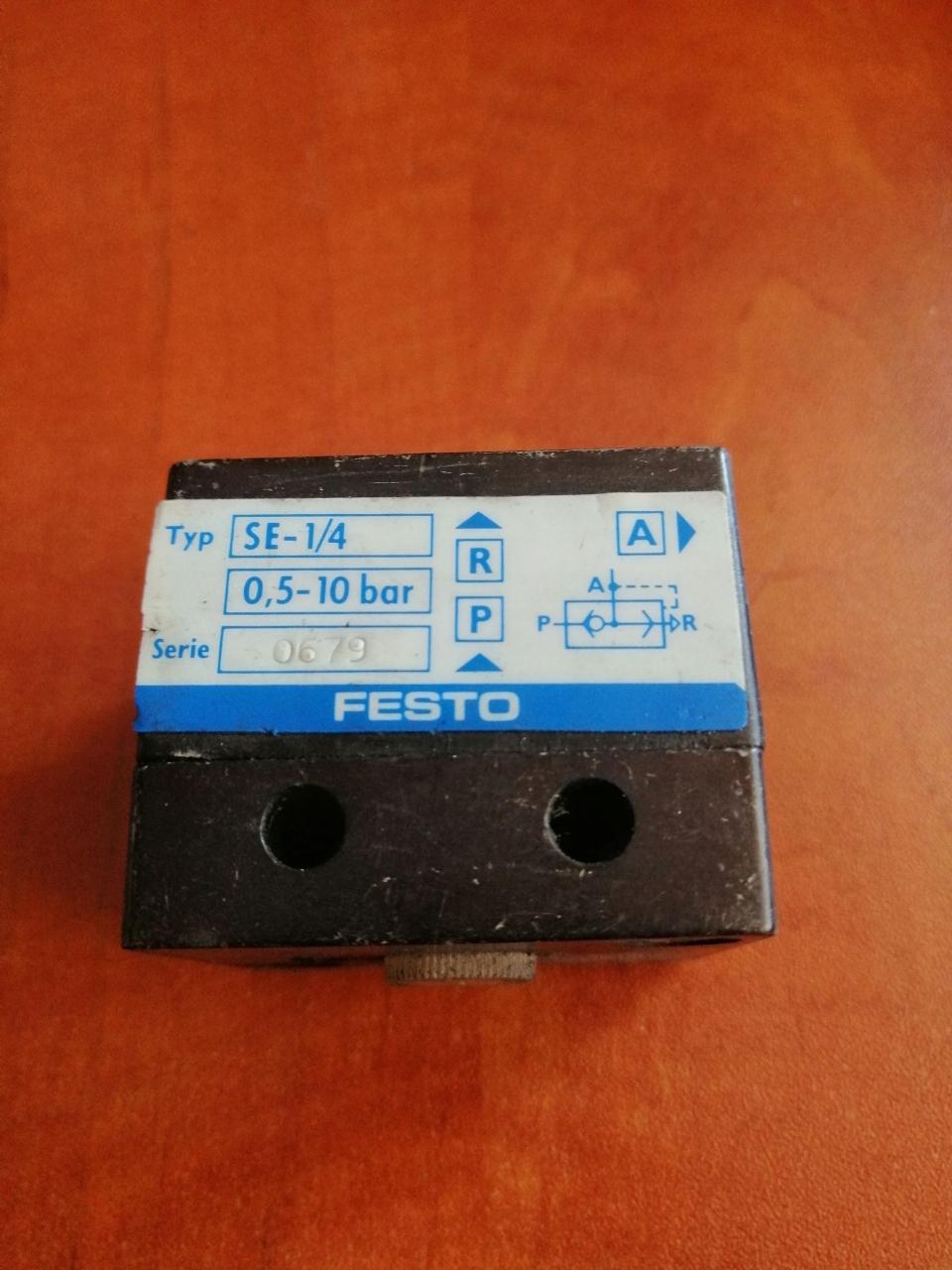FESTO SE-1/4 Ventil
