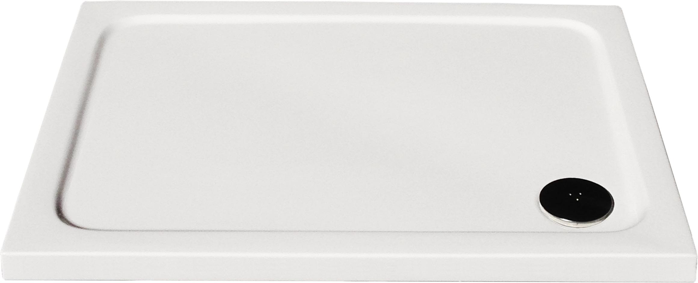 Plochá sprchová vanička 150 cm x 100 cm ULTRA PLUS 3 cm so sifónom
