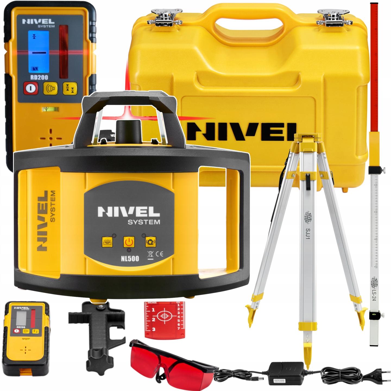 Niwelator laserowy NIVEL System NL500 Statyw Łata