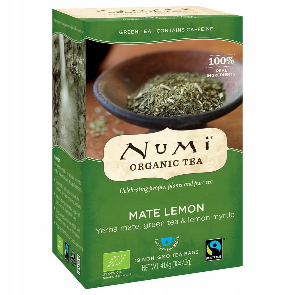 Купить Органический чай NUMI Yerba Mate ORGANIC bio на Otpravka - цены и фото - доставка из Польши и стран Европы в Украину.