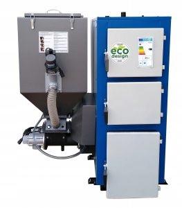 Kotol Technix 15 kW PELLET a eko-hrachové uhlie + inštalácia
