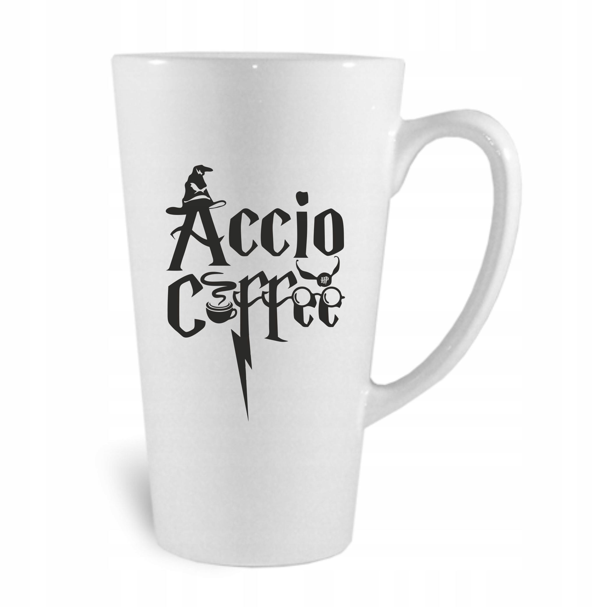 Item A big MUG of LATTE Accio Coffee HARRY POTTER ! LUX
