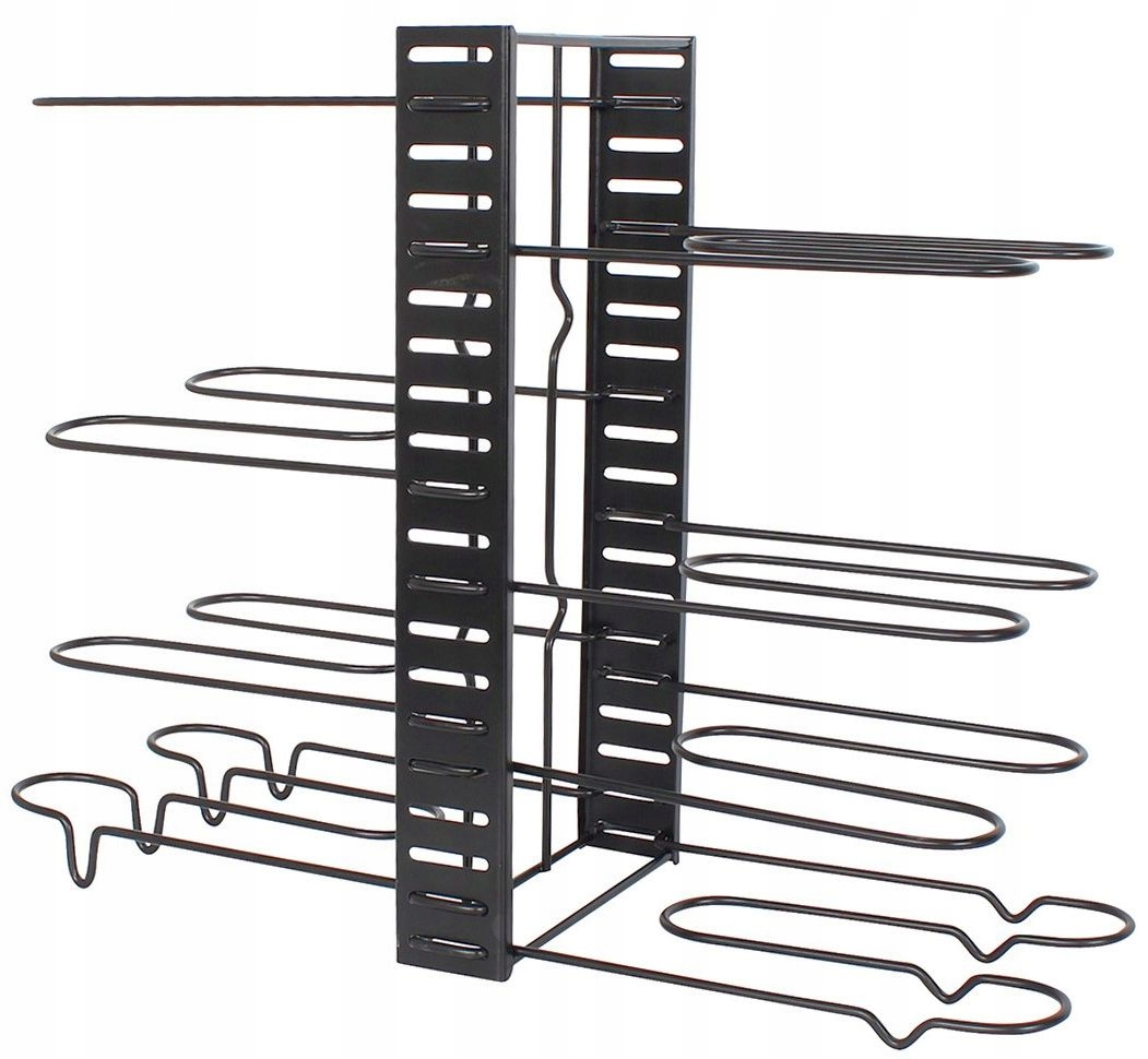 Подставка-органайзер держатель для сковороды крышки полка