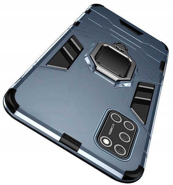 Etui do Oppo A52 A72 A92 Ring Case + Szkło 9H