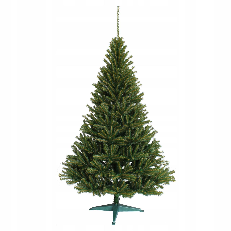 Škandinávsky smrek 220 umelý vianočný stromček, zelený