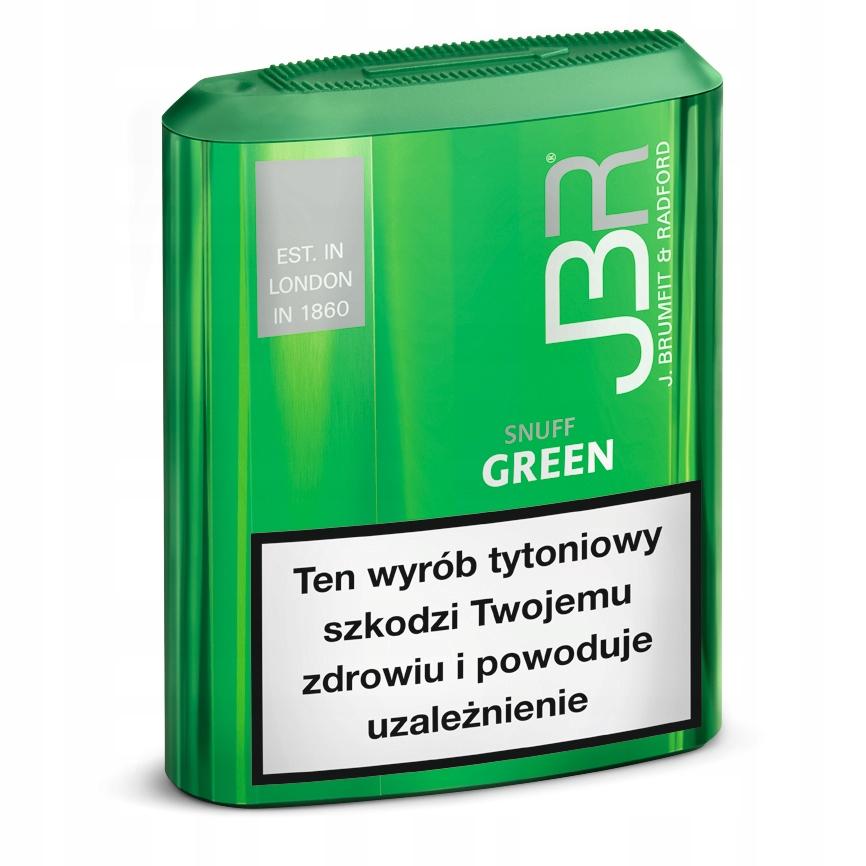 TABAKA JBR GREEN - TYLKO DLA FIRM