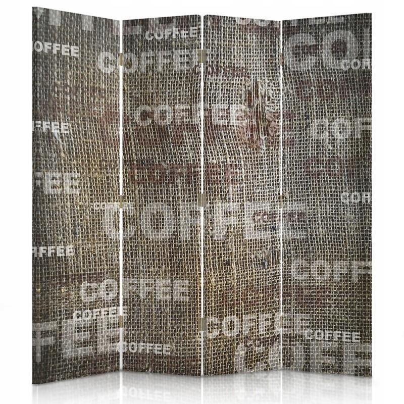 Displej na stenu kávy retro vintage 145x150