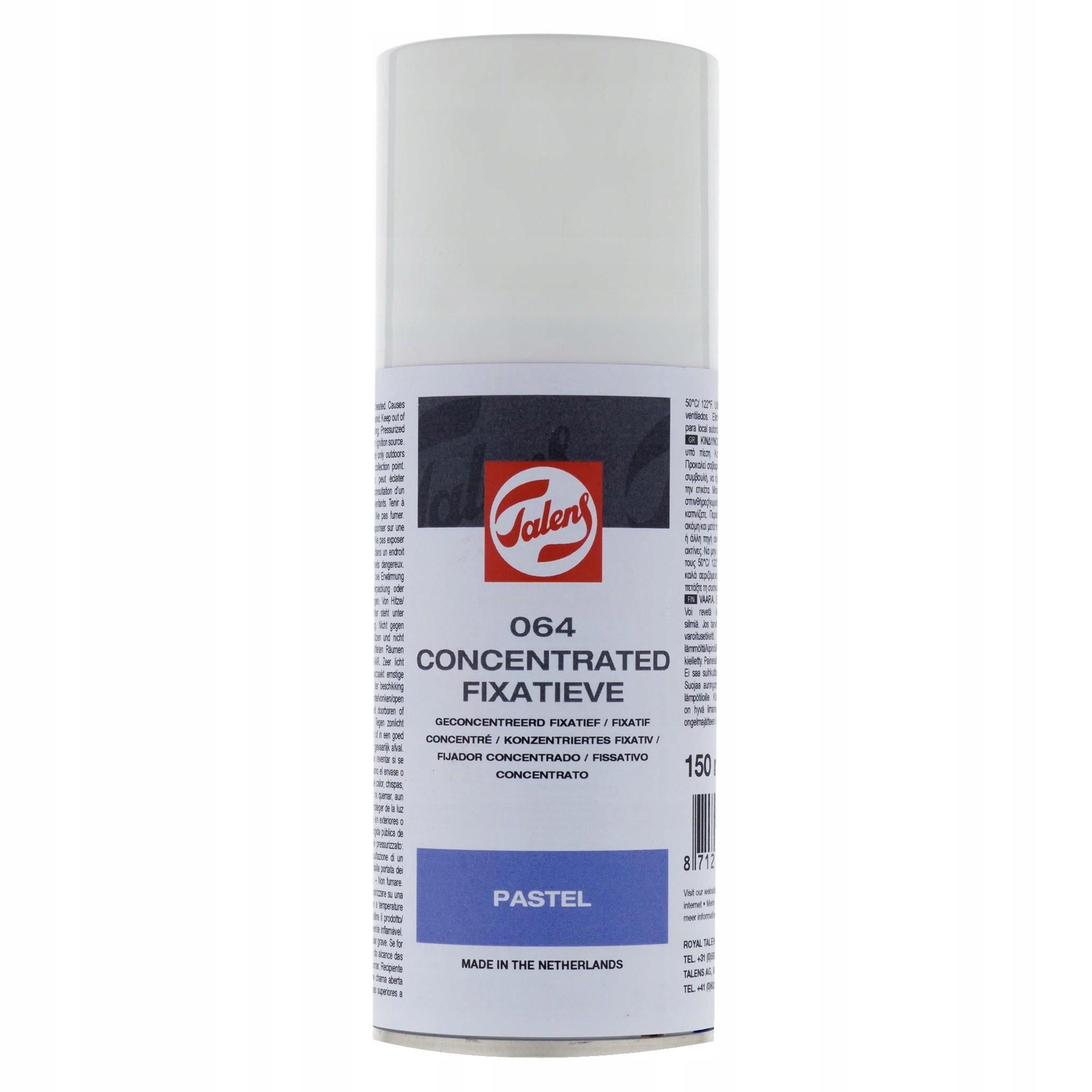 Fiksatywa skoncentrowana w sprayu Talens - 150 ml