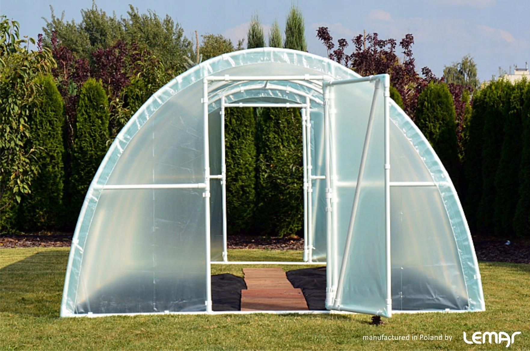 Záhradný fóliový tunel Skleník 10x3 4-sezónna fólia Kód produktu LEMAR As10