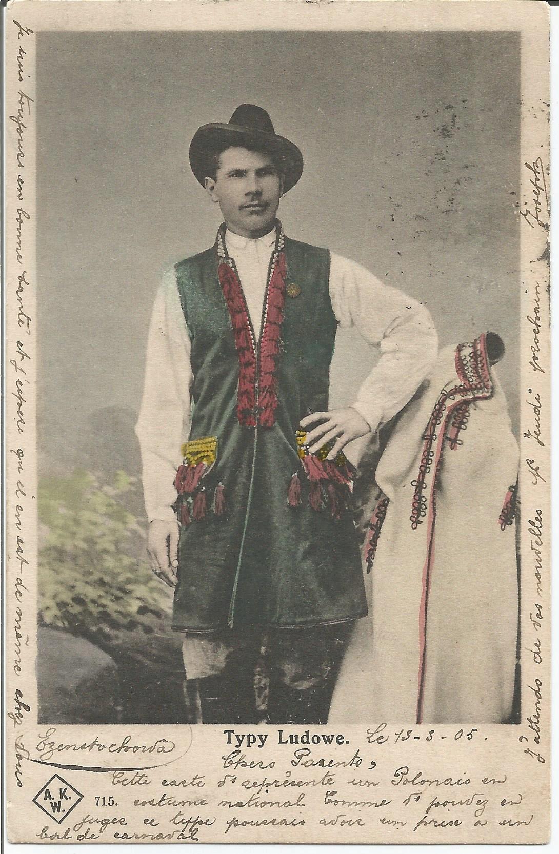 Типы людей 1905