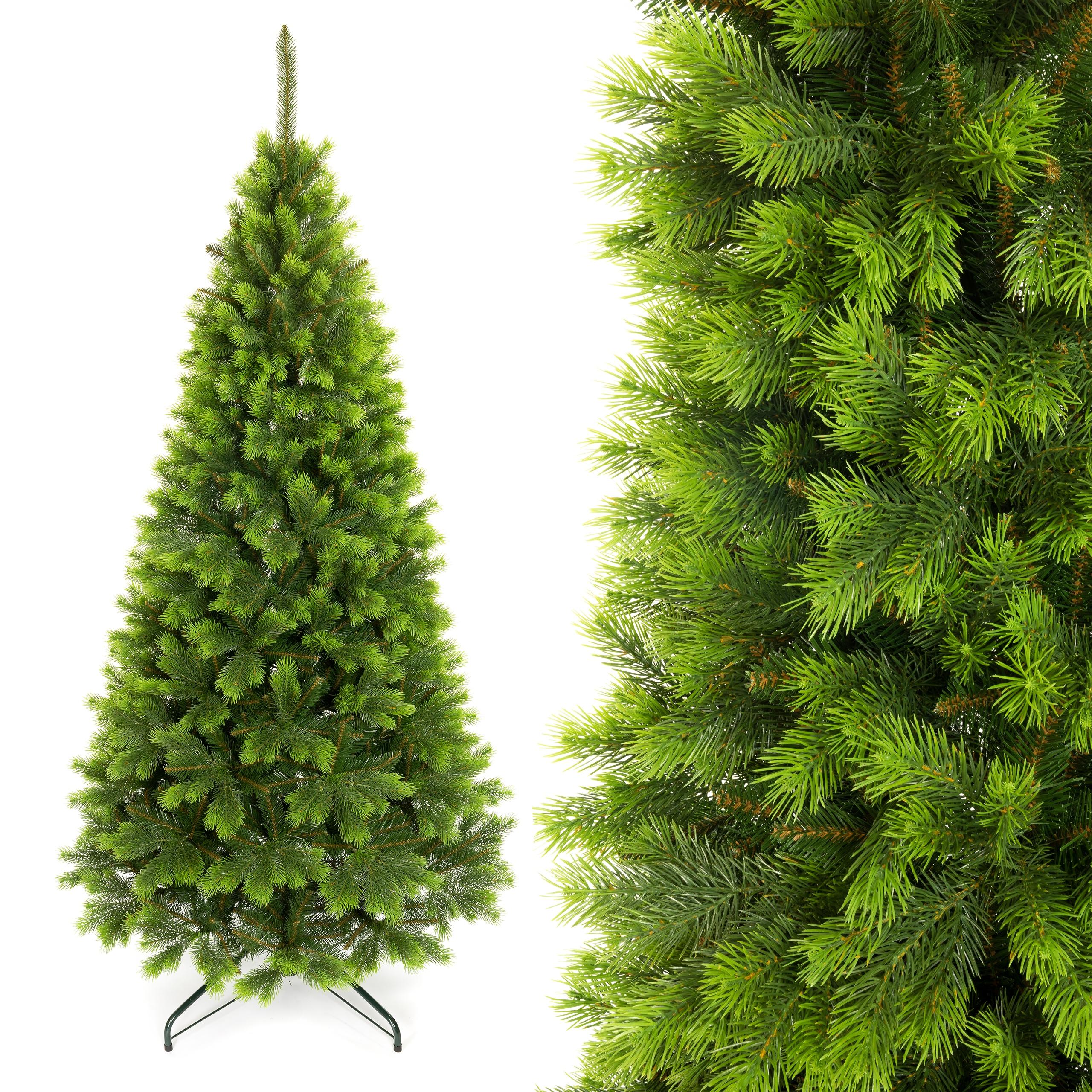Umelý vianočný stromček Kvitnúca borovica PE 160 cm, ako živý
