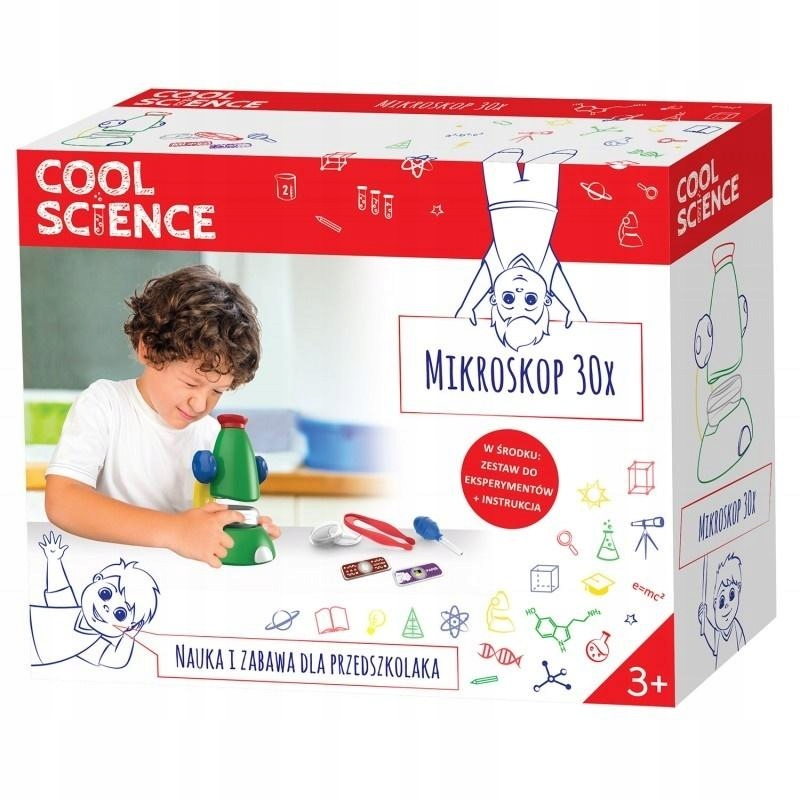 TM Toys Cool Science 30x mikroskop