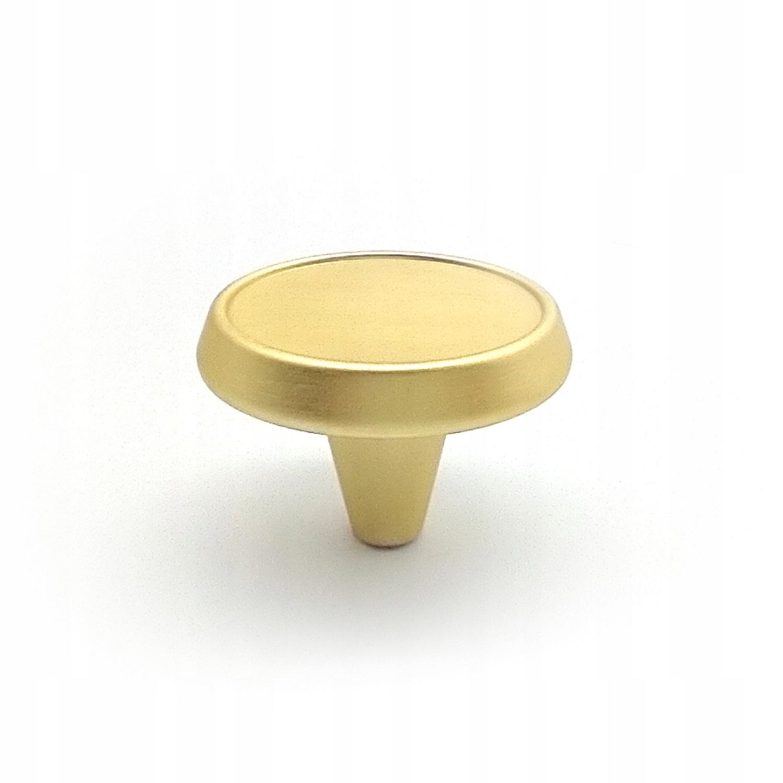 Ручка мебельная GU09 матовое золото GAMET