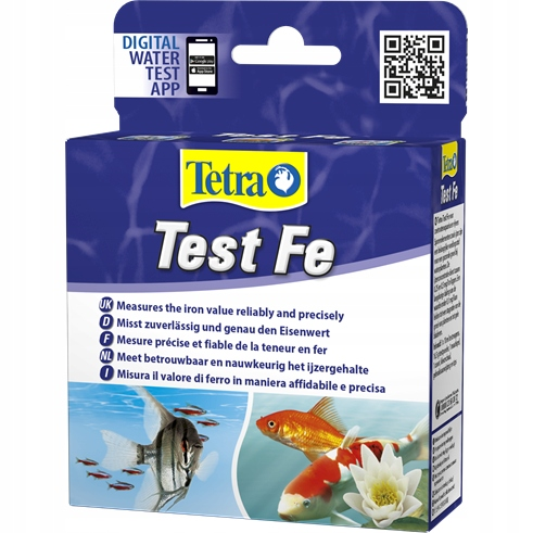 Tetra test Fe (železo)