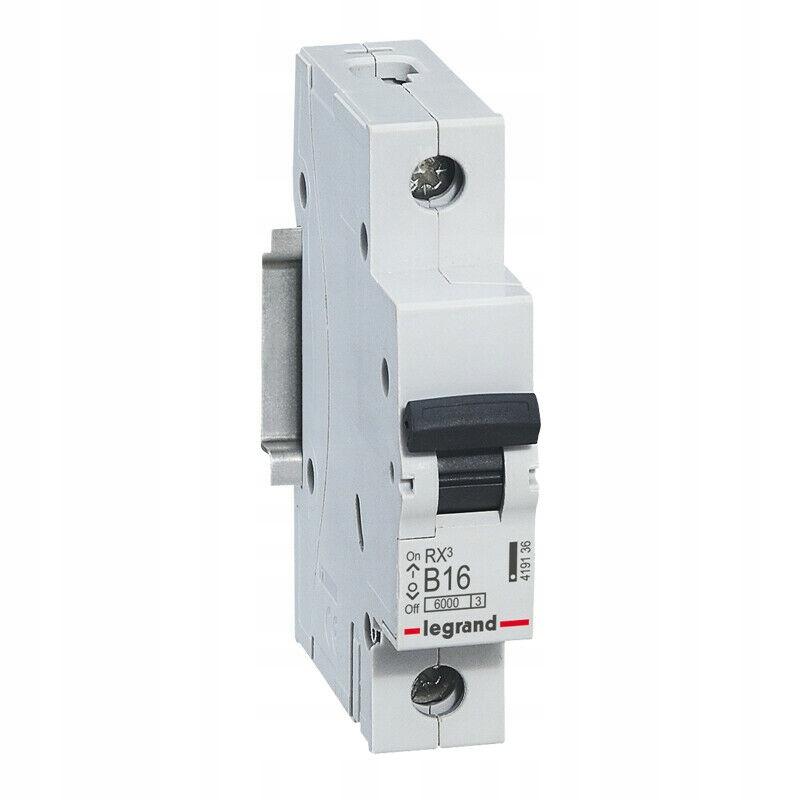 LEGRAND RX3 Выключатель максимального тока 1P B16A S301