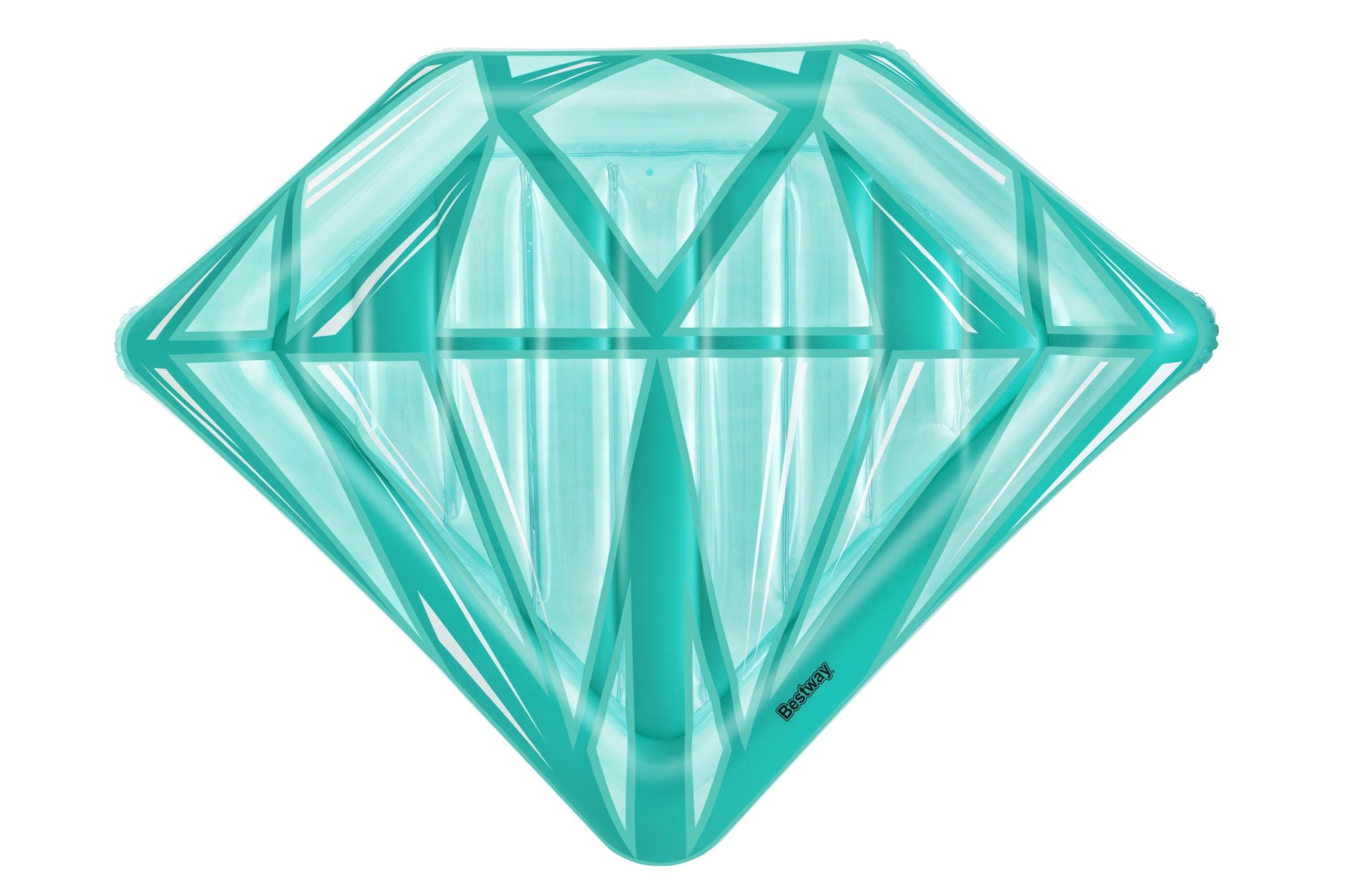 DMUCHANY MATERAC diament DO PŁYWANIA na BASEN 1,93 Płeć kobieta mężczyzna dziewczynka chłopiec