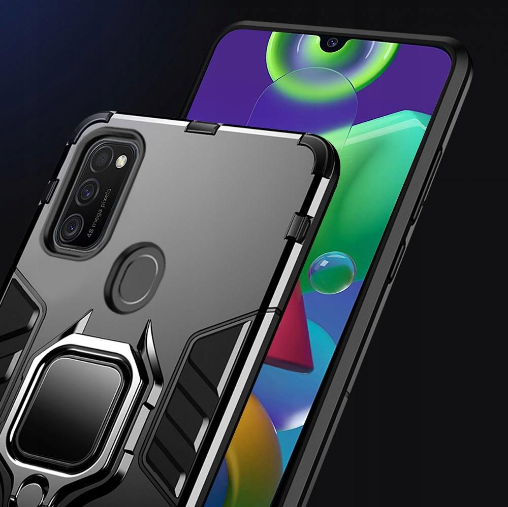 Etui Pancerne Case + Szkło do Samsung Galaxy M21 Dedykowany model Samsung Galaxy M21
