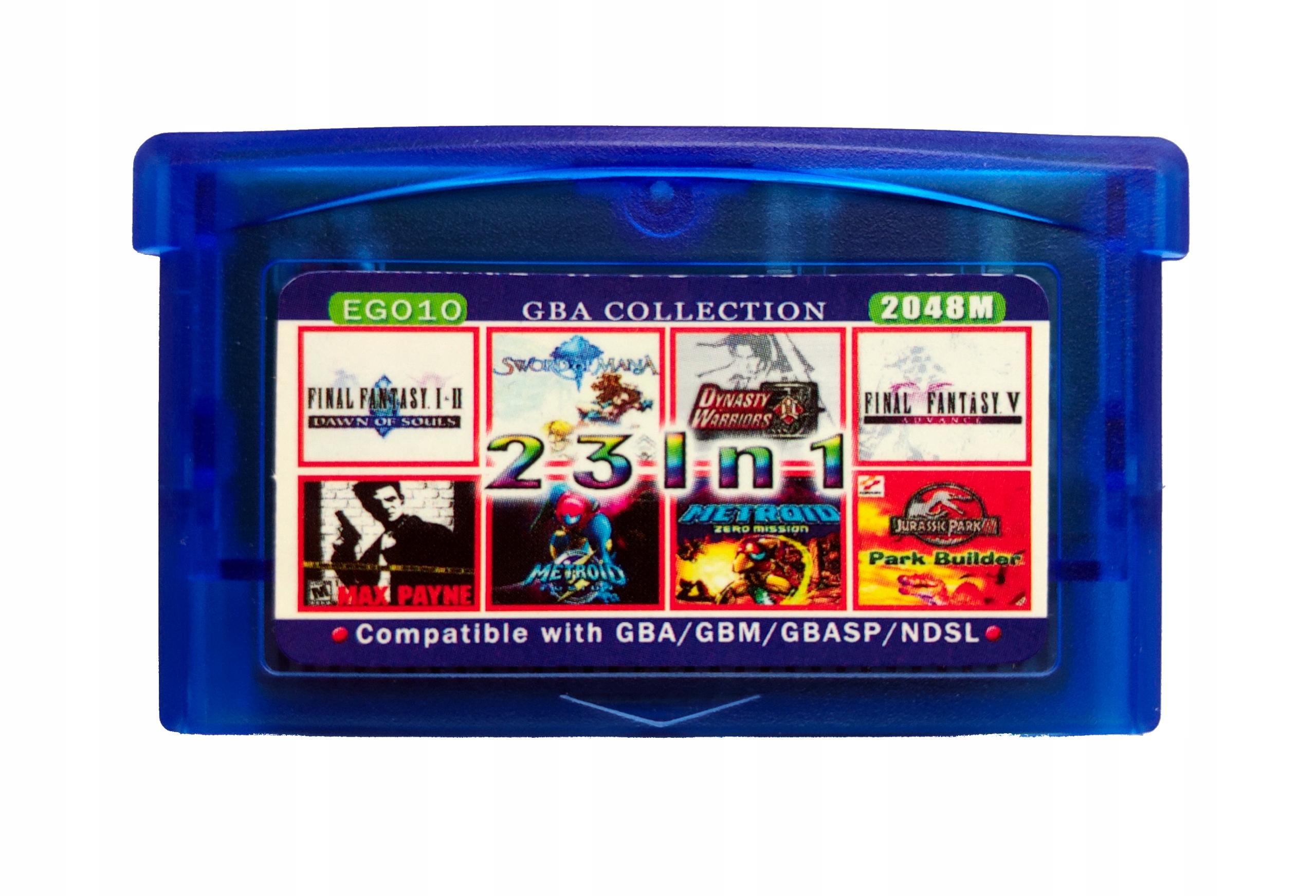 23 v 1 GameBoy Advance - Final Fantasy Všetky