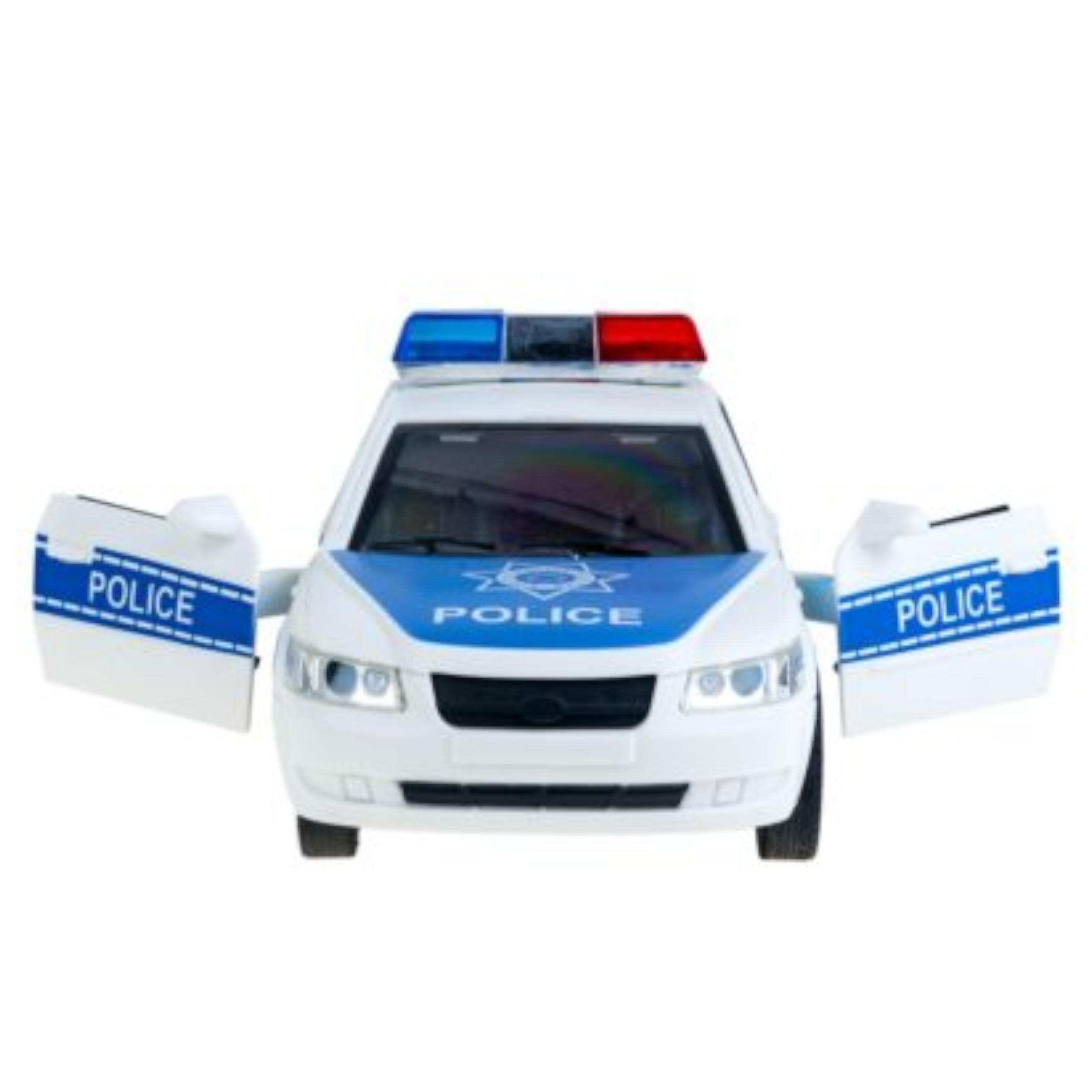 Samochód policyjny otwierane drzwi dźwięki WY560A Marka inna
