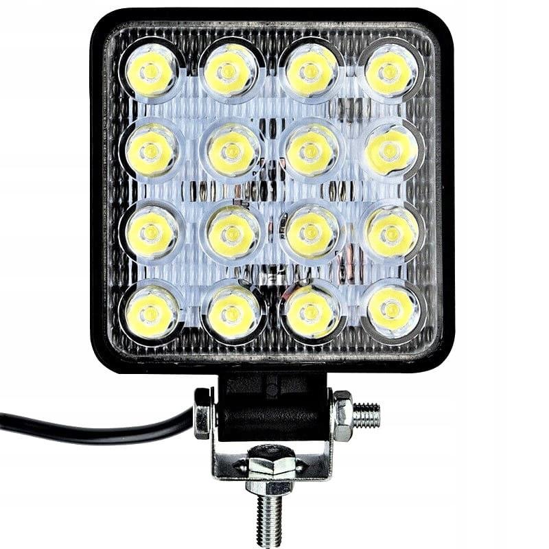 лампа заднего вида led галоген 48w прожектора 12v 24v 36v