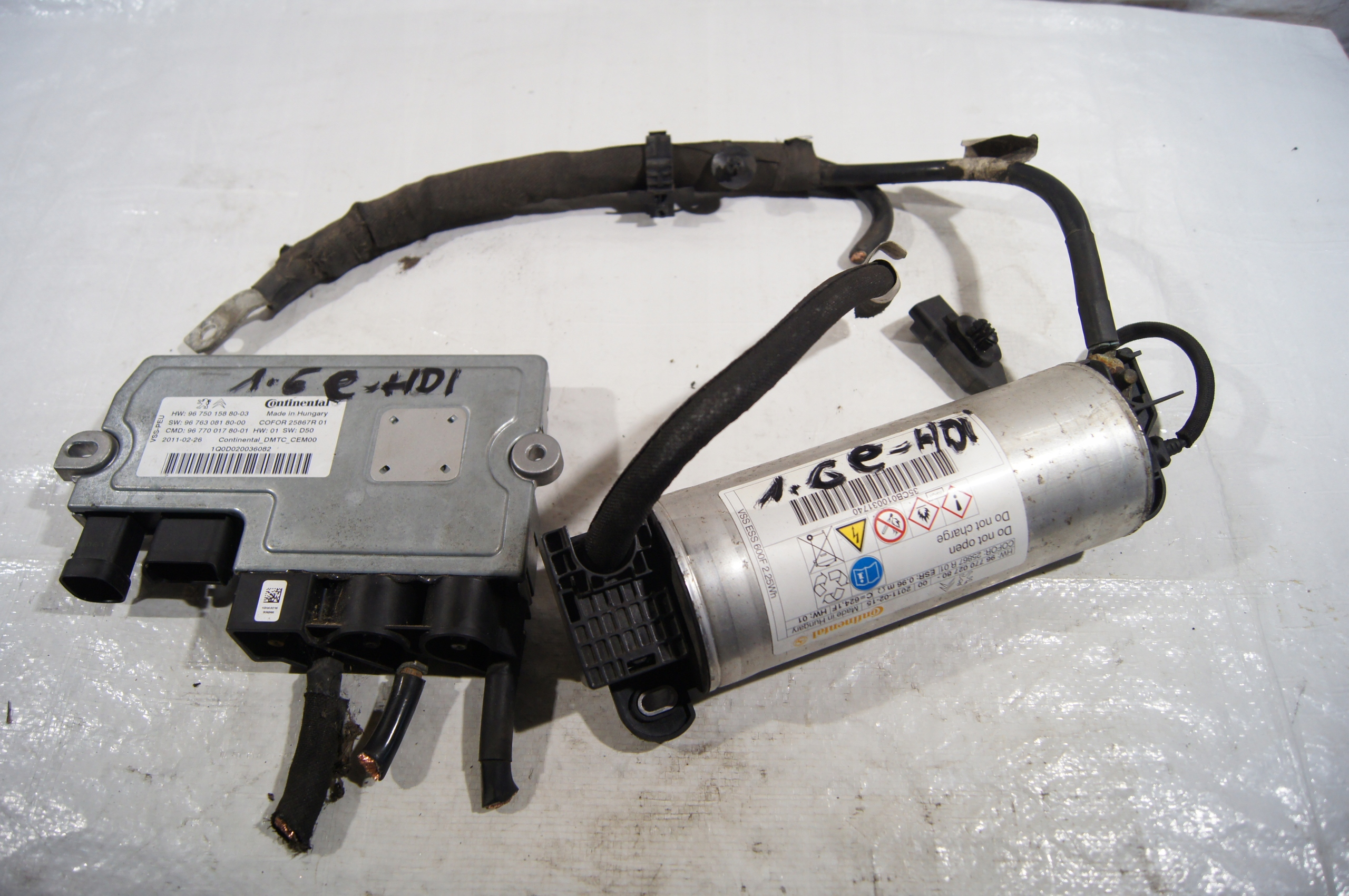 модуль конденсатор пуск стоп peugeot 508 16 e-hdi