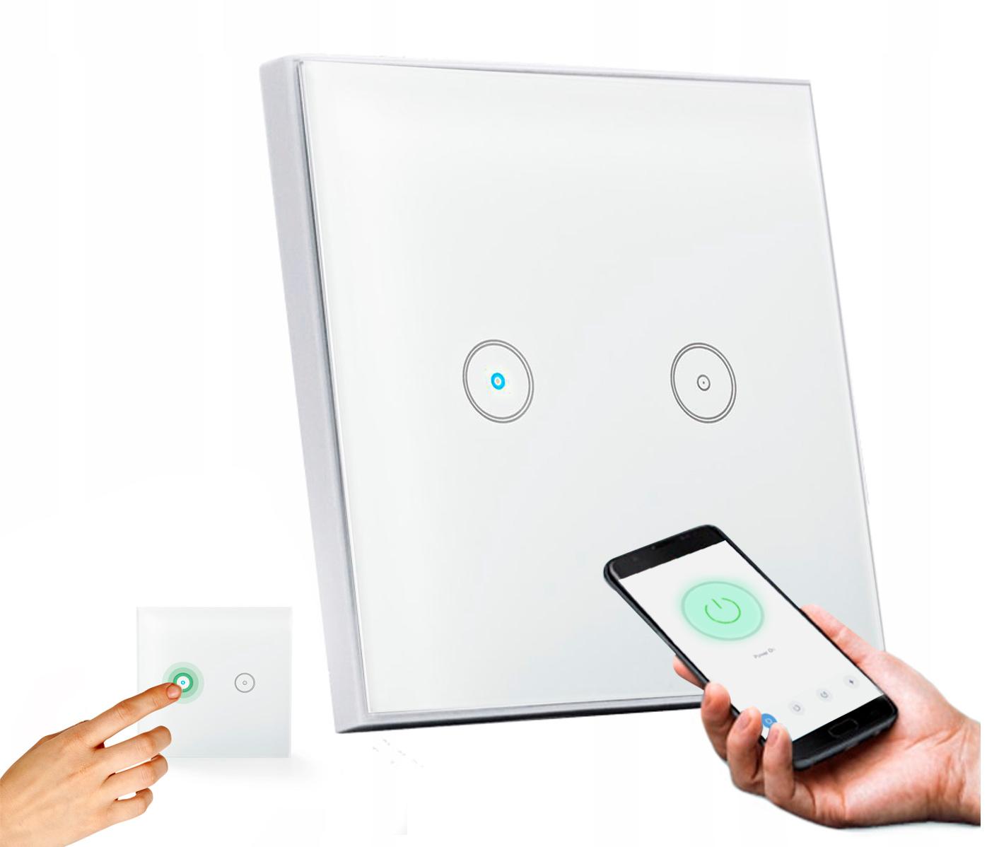 Inteligentny włącznik światła WiFi NOUS L2