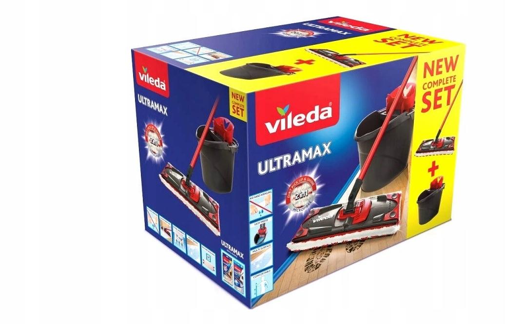 Плоская швабра Vileda Ultramax bucket
