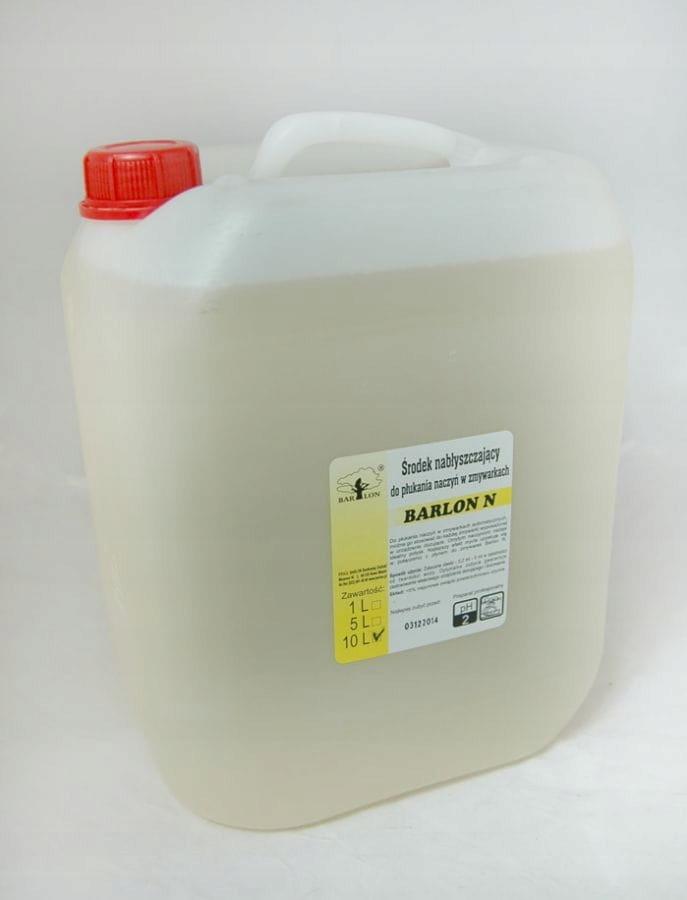 Liquid-opláchnite pomoci pre umývačky riadu BARLON N 10 L