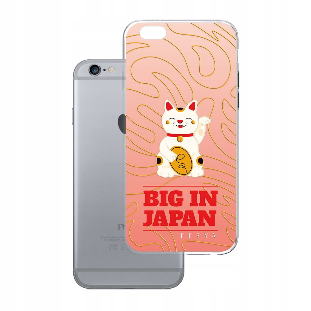 Etui na iPhone 6 6S 3mk ferya Big In Japan - Slim
