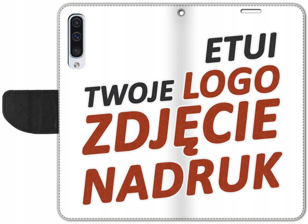 Etui Portfel Nadruk Twoje Foto Samsung Galaxy A50