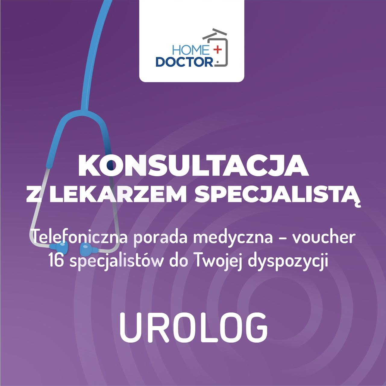 TeleKonzultácia s lekárom urológom - poukážka