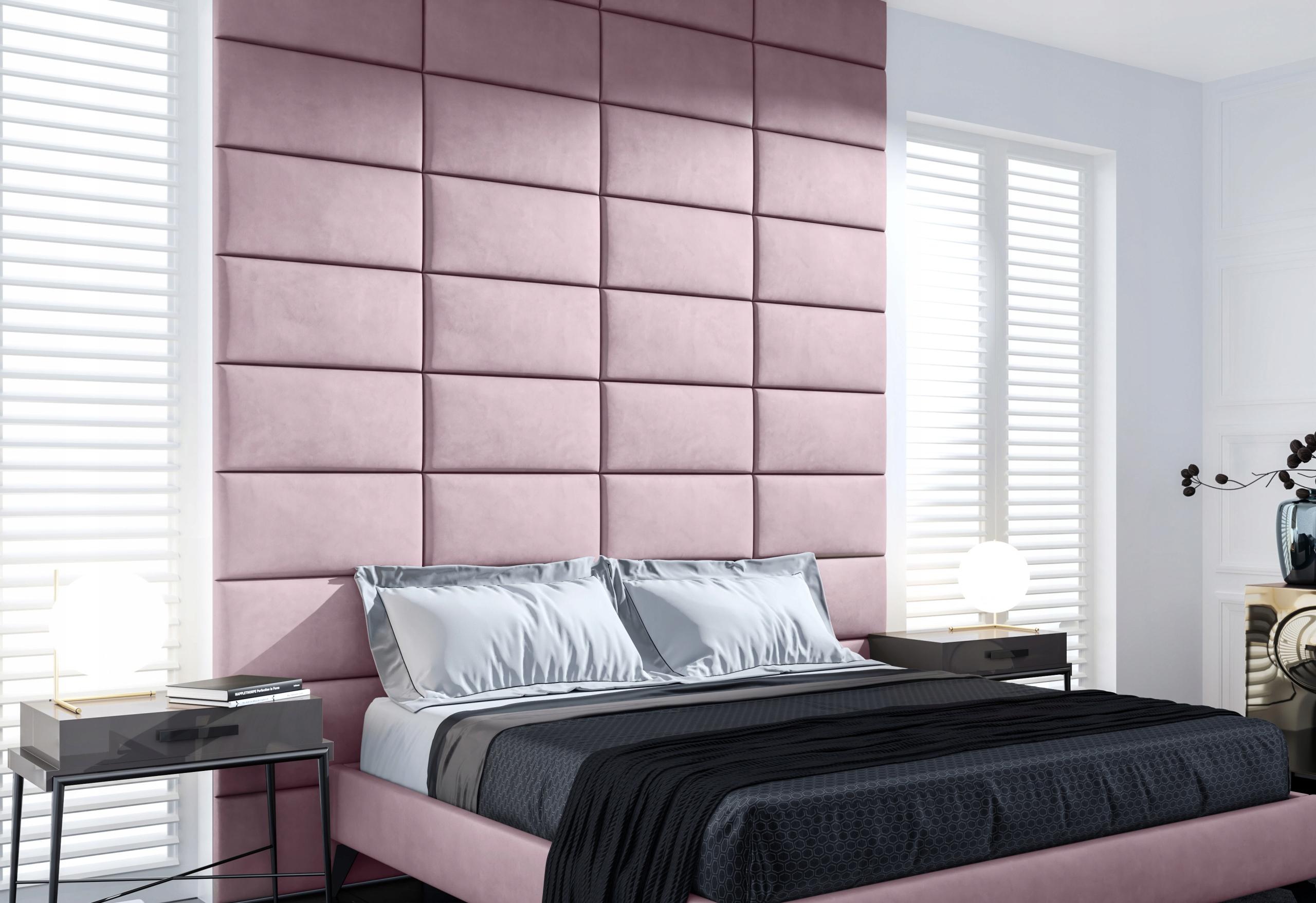 Panel tapicerowany dekoracyjny na ścianę 60 x 30