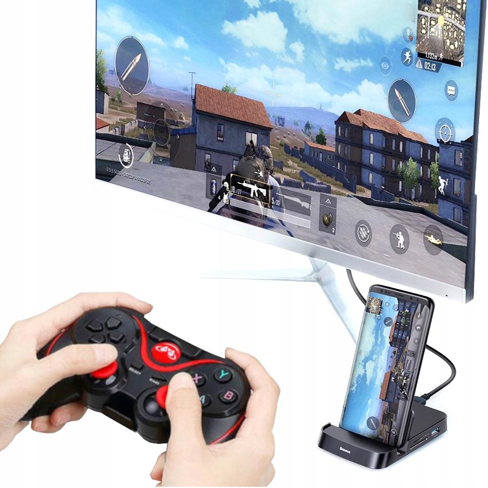 Купить ТЕЛЕФОН как игровая приставка HD + PAD + HDMI станция на Otpravka - цены и фото - доставка из Польши и стран Европы в Украину.