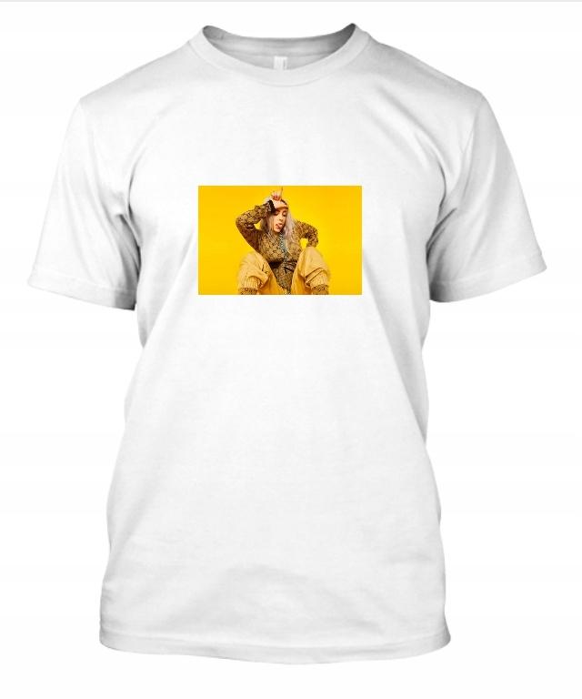 Koszulka Billie Eilish blosh damska Biała M