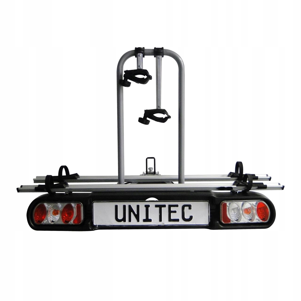 Unitec Bagażnik Uchwyt Rowerowy na Hak 2 Rowery
