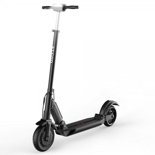 Электрический скутер Kugoo S1 350W черный 30 км / ч