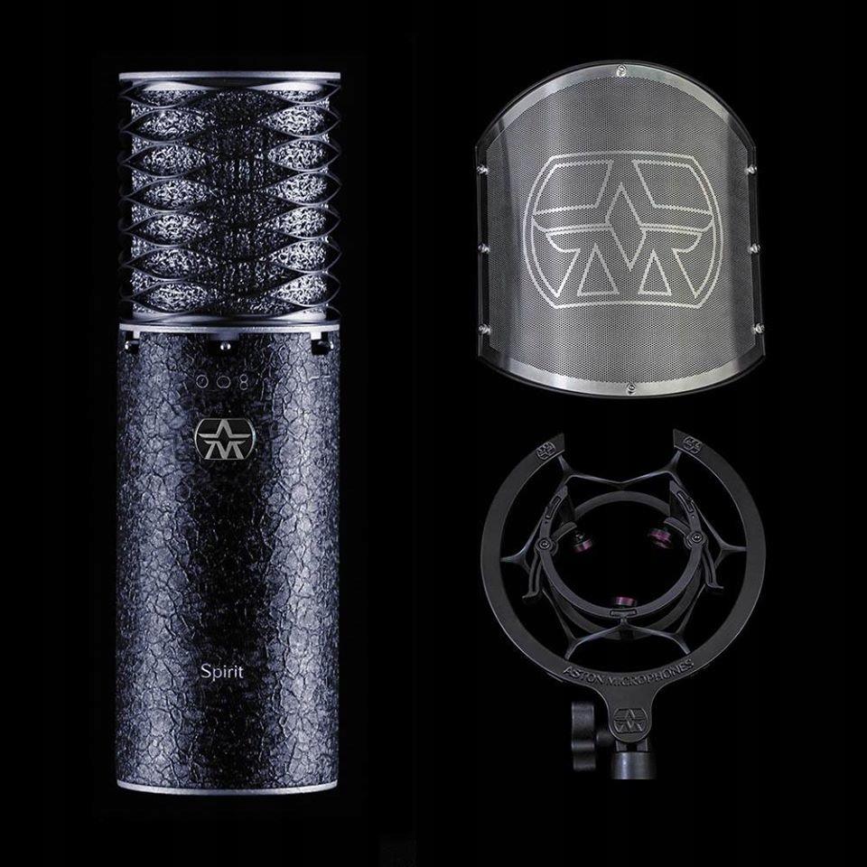 Купить ASTON SPIRIT BLACK BUNDLE: Zestaw mikrofonowy на Otpravka - цены и фото - доставка из Польши и стран Европы в Украину.