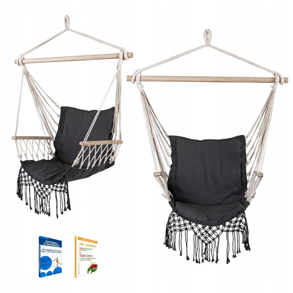 Krzesło wiszące BRAZYLIJSKIE HAMAK huśtawka COSTA