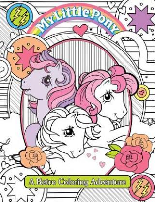 Retro omaľovánka My Little Pony