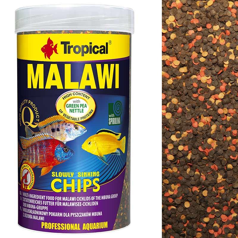 Tropical MALAWI CHIPS 1000ml pokarm dla pyszczaków