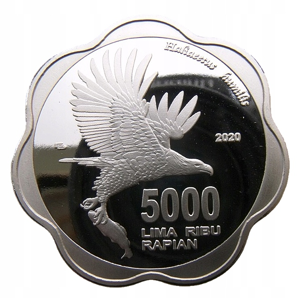NATUNA 5000 LIMA RIBU RAPIAN 2020 PTAK ORZEŁ 40mm