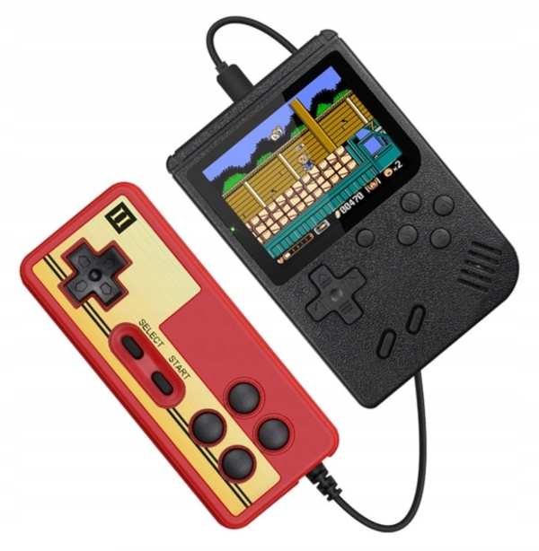 MINI RETRO CONSOLE GAMEBOY PRENOSNÁ HRA 400v1
