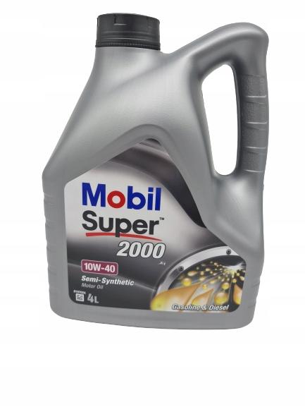 MOBIL SUPER 2000 X1 10W40 4L БЕНЗИН