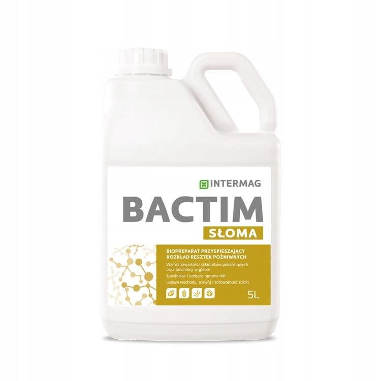 Принимайте bactim Солома 5Л Intermag разложение остатков соломы