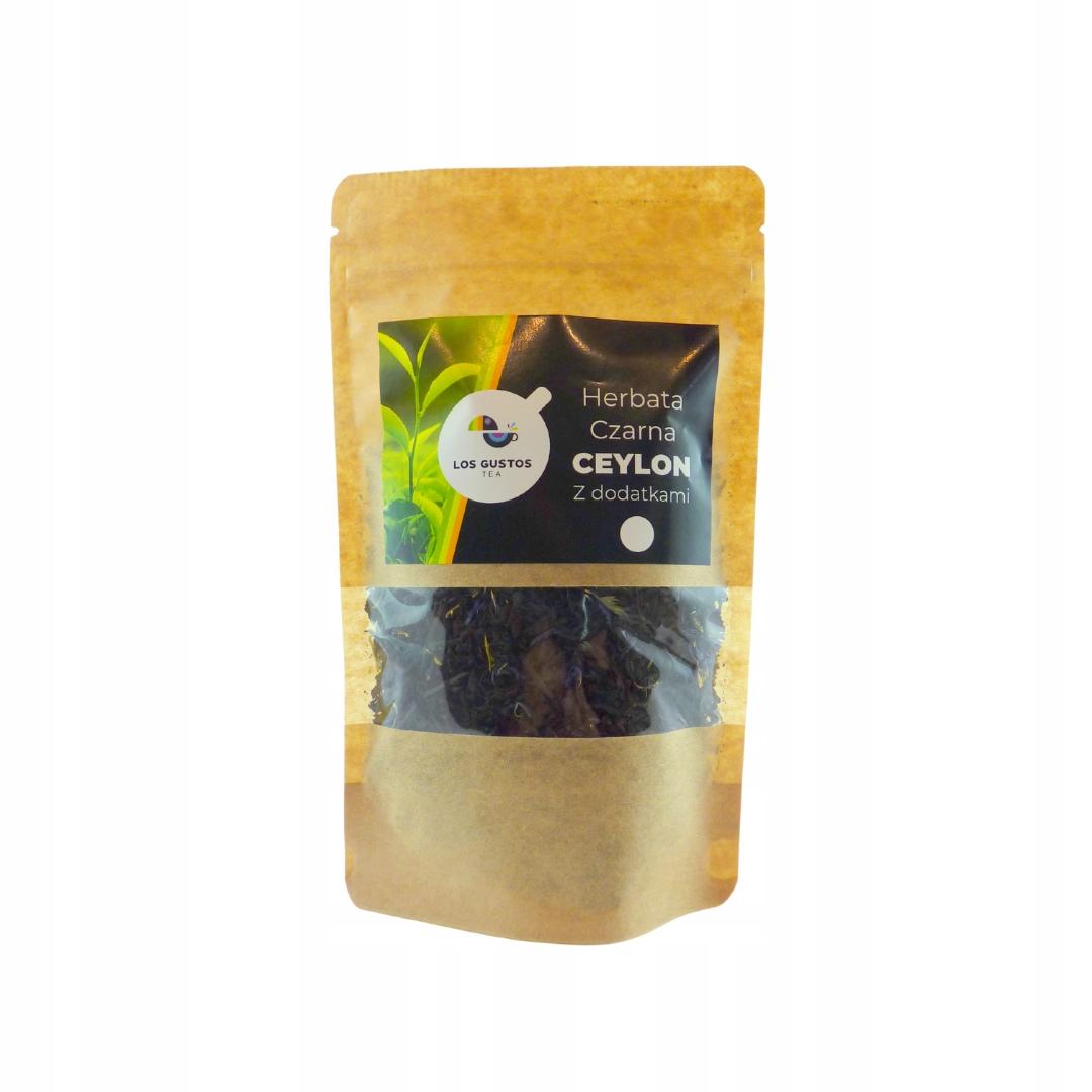 Черный чай Los Gustos Ceylon blend 2 шт. 100г