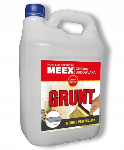 MEEX GRUNT GŁĘBOKO PENETRUJĄCY preparat uni-grunt